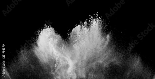 Photographie dust powder flour background explosion