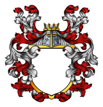 A Coat Of Arms Crest Heraldic ...