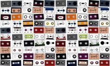 Vintage Cassette Tape Vector I...