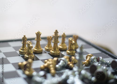 Chess is like doing business, for the future, for