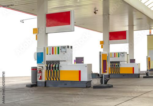 Obraz na plátně filling station