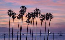 Santa Barbara California Sunset