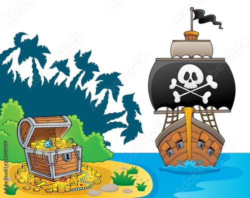 Image with pirate vessel theme 7