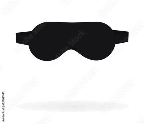 Fotografie, Obraz Sleeping eye mask. vector illustration