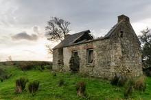 Deralict Irish Stone Cottage