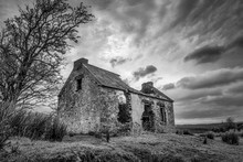 Old Stone Cottage In Ruins