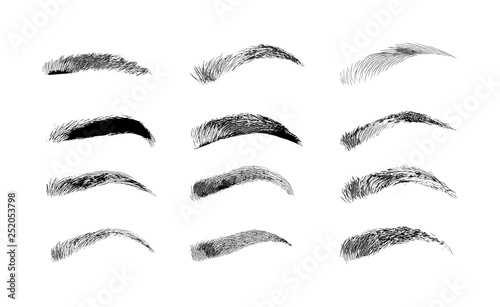 Photo Eyebrow shapes