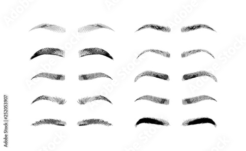 Fotografering  Eyebrow shapes