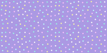 Pastel Unicorn Pattern Seamless. Star Background In Purple Tone For Baby  Fabric Print, Wrapping Papers, Scrapbook, Textile, Kid Wallpaper And Gift Wrap