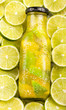 Fresh citrus lemonade with lemons - Citrus × limon