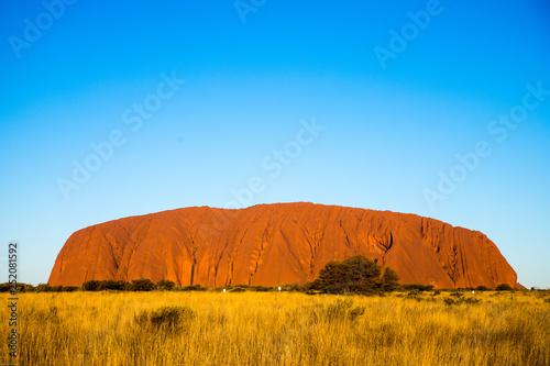 Türaufkleber Pool Uluru, red centre, Australia