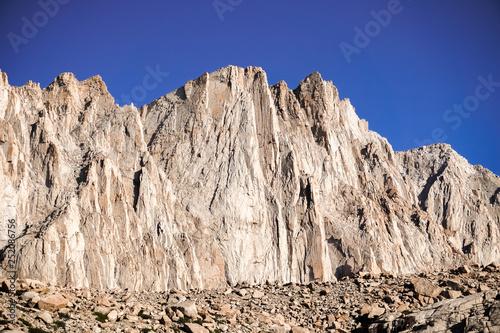 Fotografie, Obraz  Steep mountain, Sequoia National Park, Mount Whitney Trail, Eastern Sierra Mount