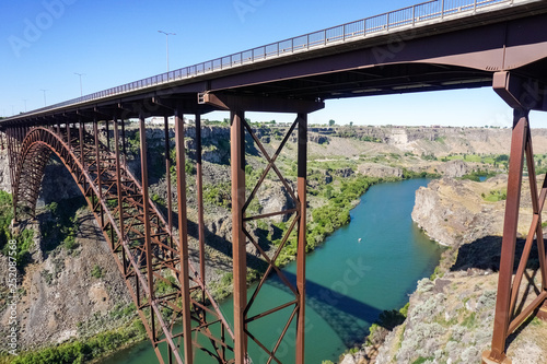 Perrine Bridge Over Snake River Canyon Twin Falls Idaho Buy This