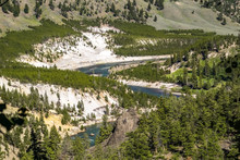 Yellowstone River At Tower Fal...