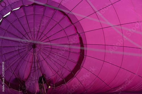Poster Rose Fahrt mit dem Heißluftballon über das bayerische Voralpenland