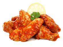 Chicken Wings - Mariniert