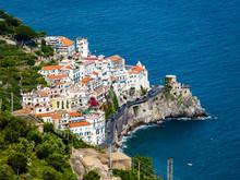 Italy, Campania, Amalfi Coast, Sorrento Peninsula, Amalfi