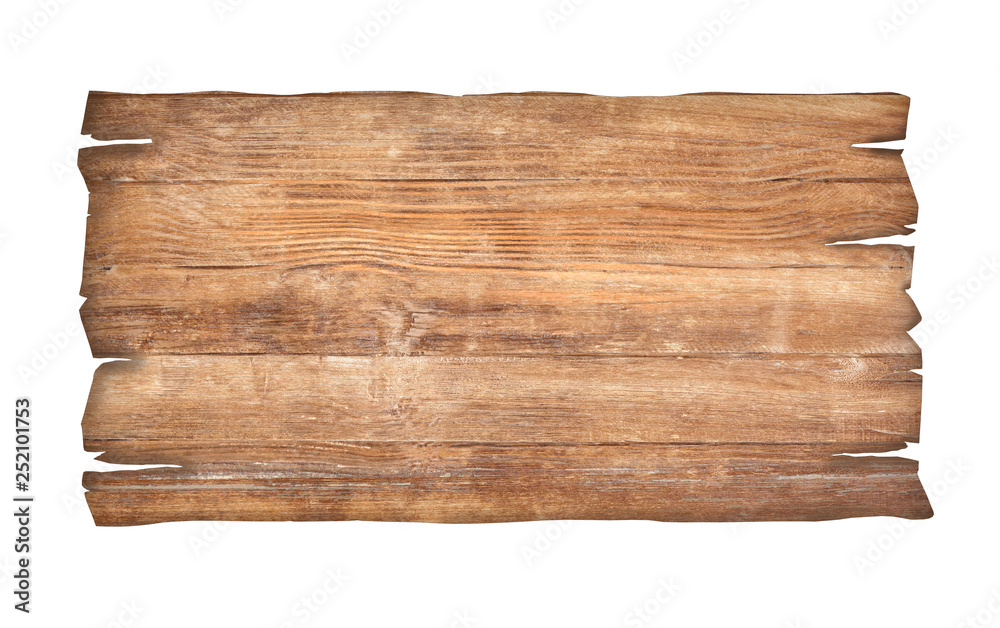 Fototapety, obrazy: close up of an empty wooden sign