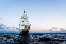 German Brig Roald Amundsen Sai...