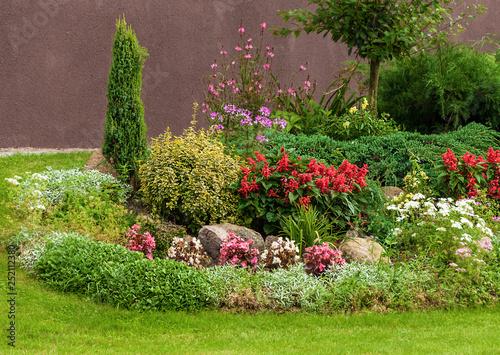 Papiers peints Jardin Flowers in Garden