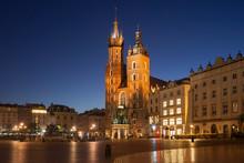 Poland, Krakow, Old Town, City...