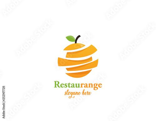 Resatu orange logo - 252147728