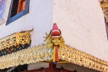 Tibetan Style Architecture Dra...