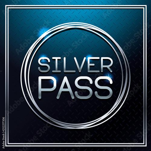 Fotografía  Silver pass card