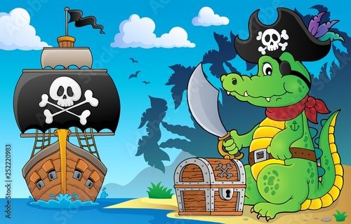 Pirate crocodile theme 5