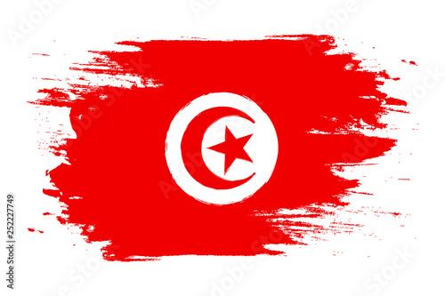 Tunisia Flag Wallpaper Mural