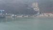 바닷가 마을 배