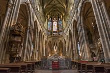 St. Vitus Cathedral, Prague Castle, Mala Strana, Prague, Czech Republic
