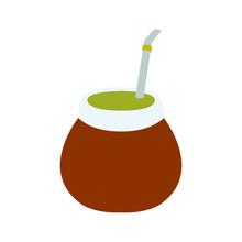 Mate Drink Illustration Emoji Vector