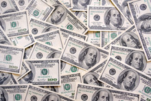 American Hundred Dollar Bills Background