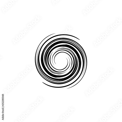 Obraz spiral tornado logo icon vector illustration - fototapety do salonu