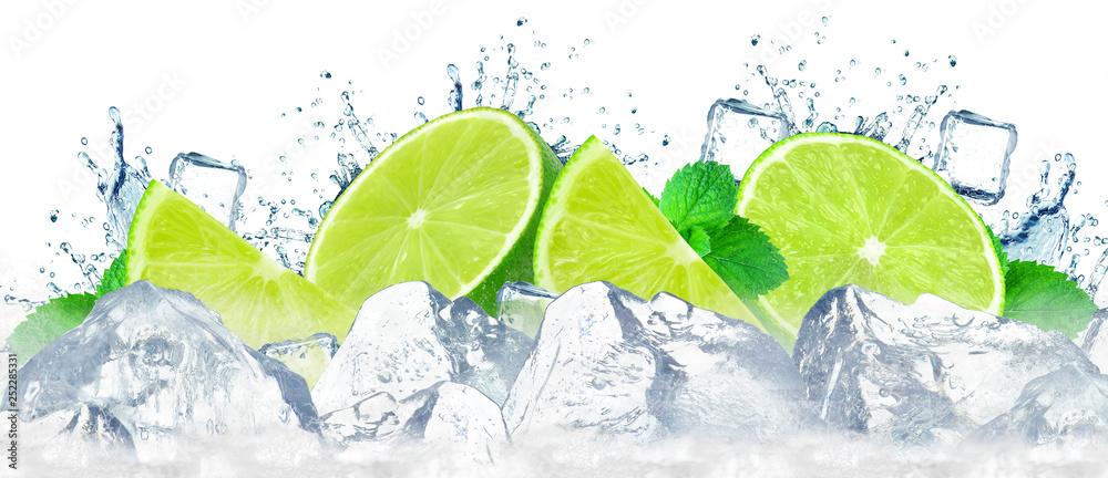 Cytryna z lodem <span>plik: #252285331 | autor: slawek_zelasko</span>