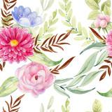 watercolor seamless pattern - 252286949