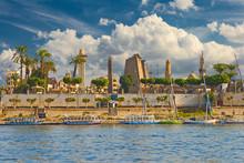 River Nile Luxor Egypt, Beauti...