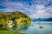 Lake Wolfgang (Wolfgangsee)- S...