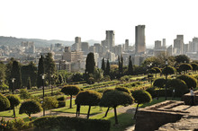 View Of The City Skyline From The Grounds Of The Union Buildings, Pretoria, South Africa.