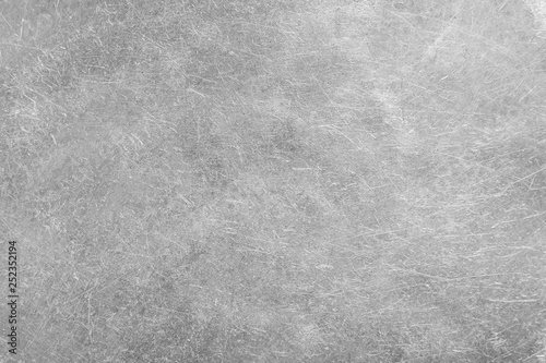 Foto op Canvas Betonbehang Steel metal stainless texture background.
