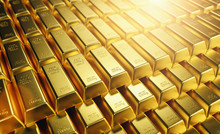 Gold Bars 1000 Grams. Concept ...