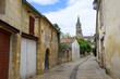 05.09.2017. Saint-Émilion, FRANCE. Saint-Émilion village - UNESCO World Heritage Site with fascinating Romanesque churches and ruins stretching all along steep and narrow streets.