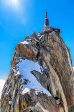 Aiguille Du Midi Observation Station Chamonix, Mont Blanc, Haute
