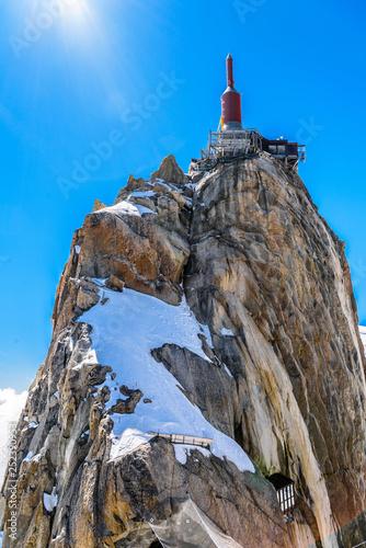 Aiguille du Midi observation station Chamonix, Mont Blanc, Haute Wallpaper Mural