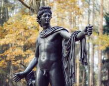 Beautiful Statue In The Autumn...