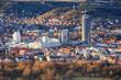 canvas print picture - 'Jena   City centre'