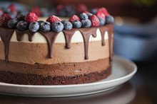 Cake Dessert Chocolate Sweet D...