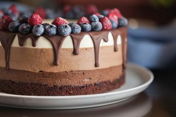 Torta desert čokolada slatka ukusna