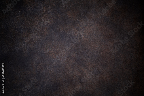 Fotografie, Obraz 暗い色のレザーの背景素材